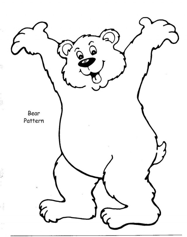 brown bear coloring pages coloring pages now