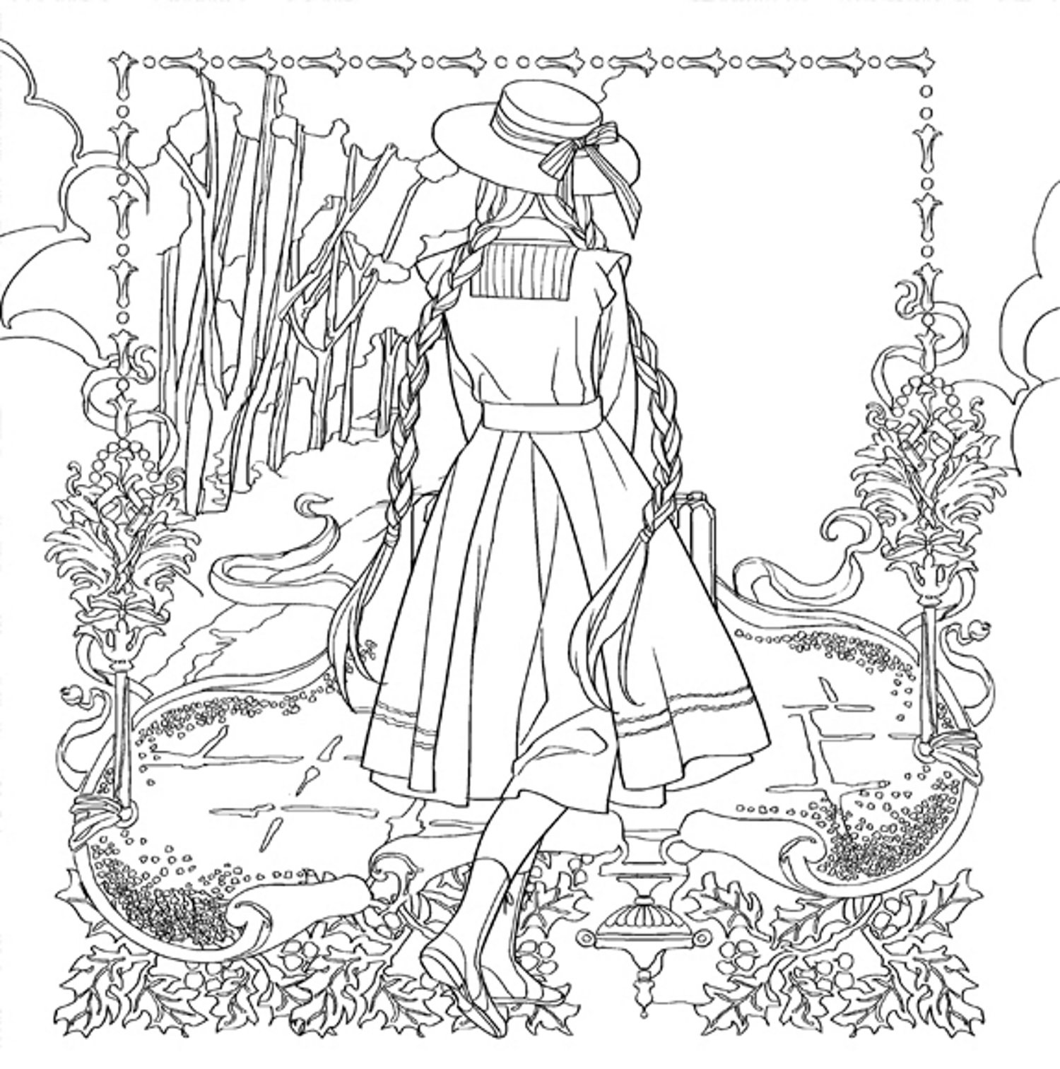 Coloring Pages Anne Stokes Coloring Pages
