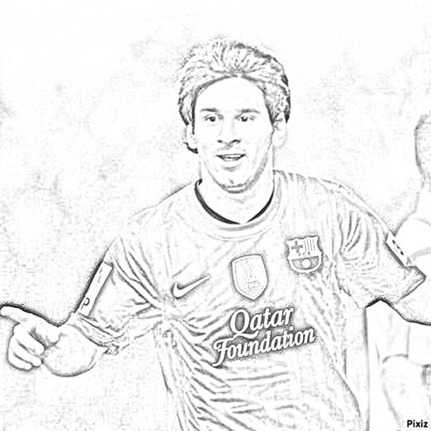 messi coloring pages az coloring pages