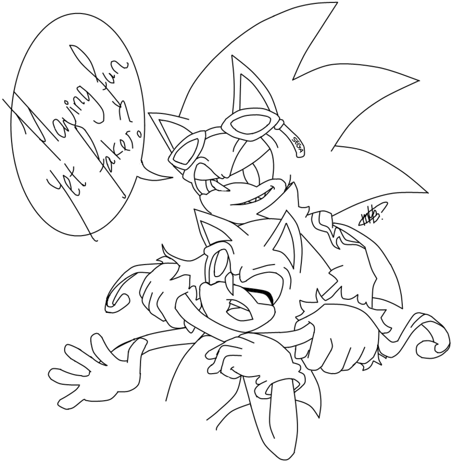 shadow from sonic coloring page az coloring pages
