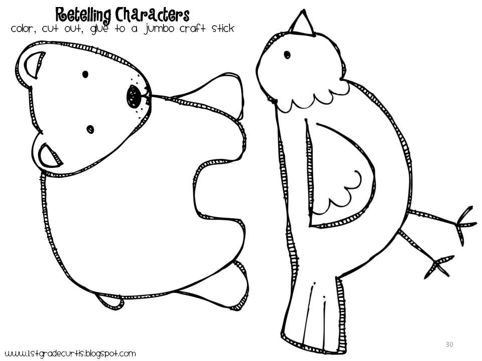 brown bear coloring page eric carle az coloring pages
