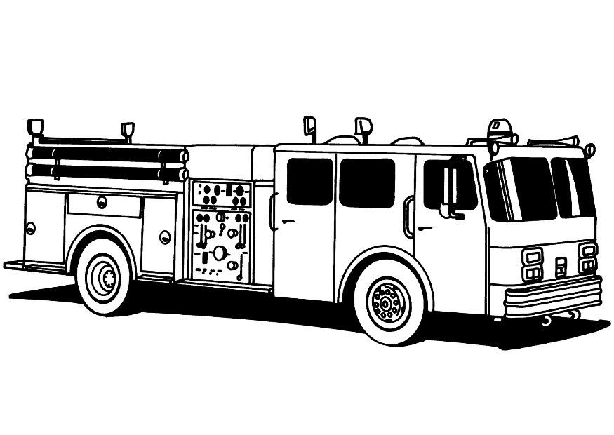 fire truck coloring page az coloring pages