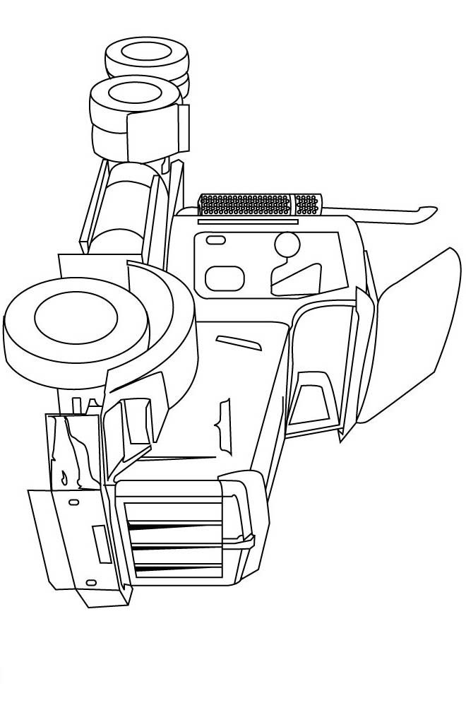 big trucks coloring pages az coloring pages