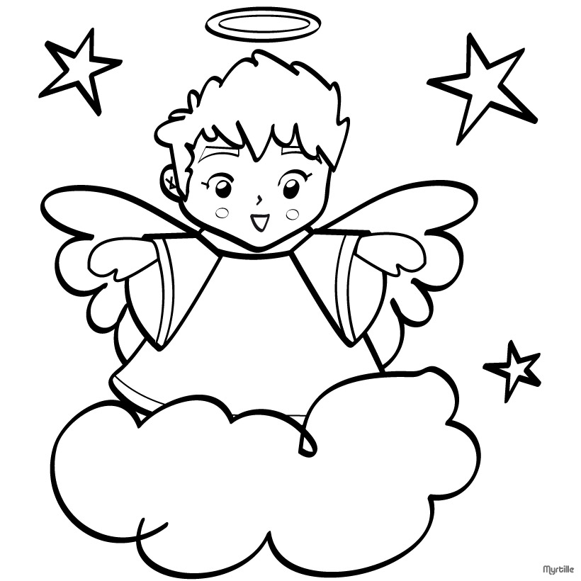christmas angel coloring pages az coloring pages
