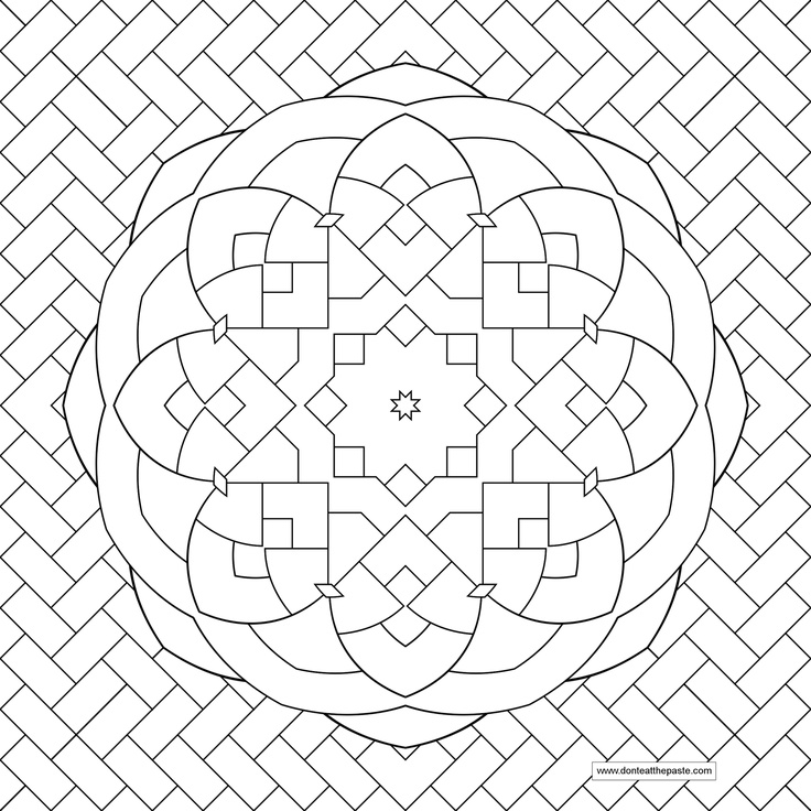 flower patterns to color az coloring pages