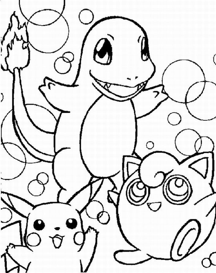 characters coloring pages for free pokemon characters coloring pages