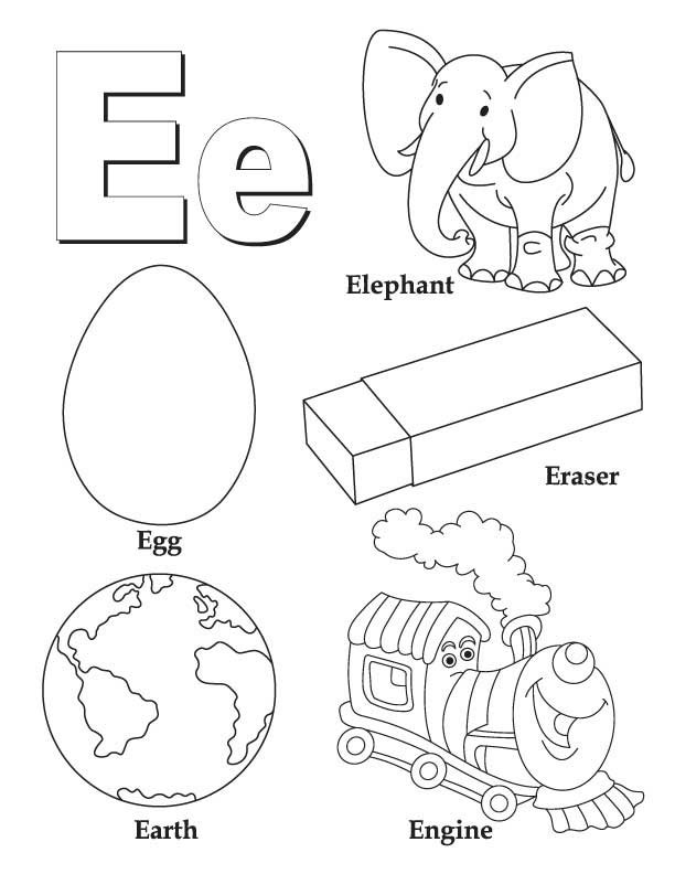 and print these letter e coloring pages for free letter e coloring