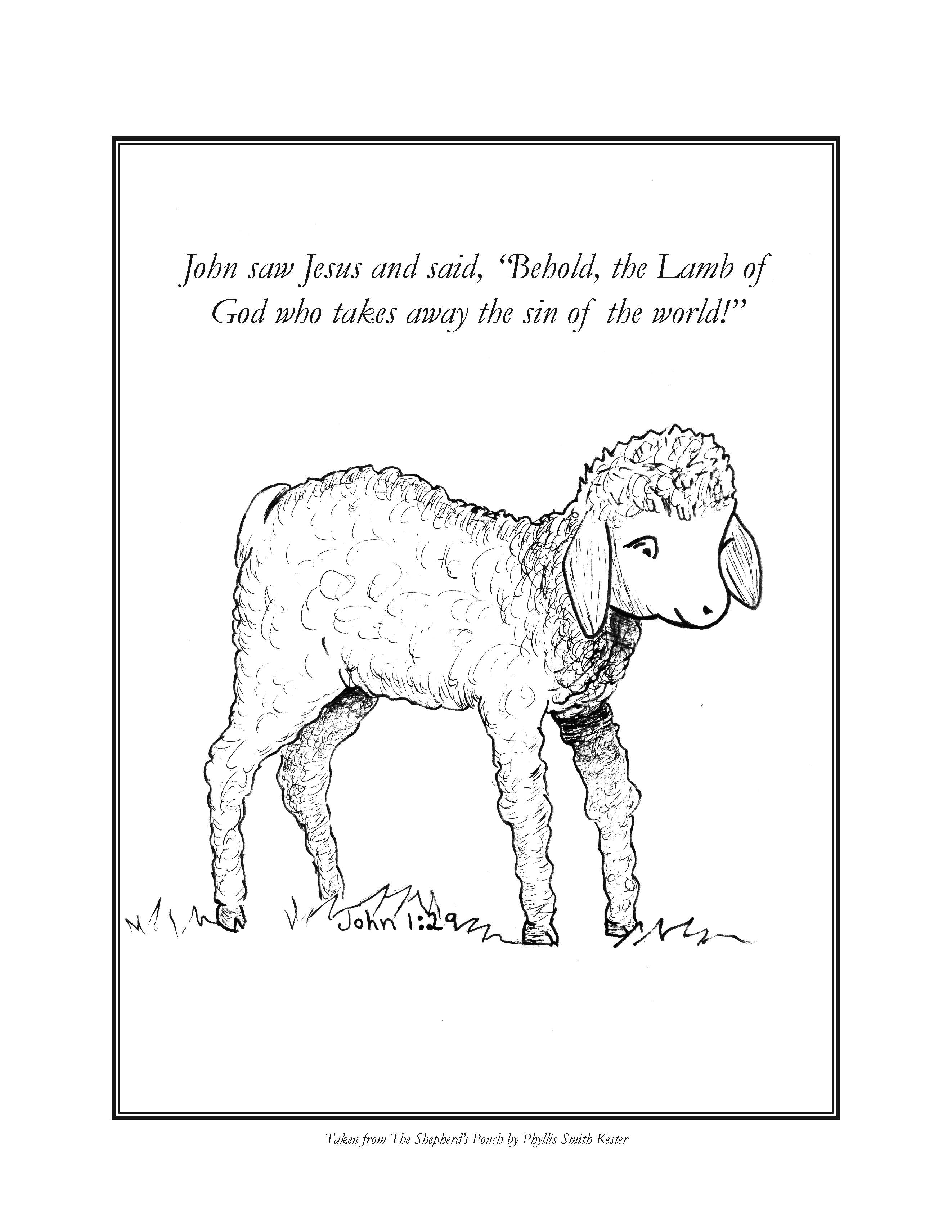 good shepherd coloring pages free az coloring pages