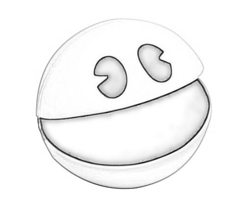 pacman coloring pages free pacman for kids az coloring pages