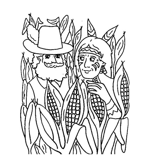 corn stalk coloring page corn free coloring pages on masivy world