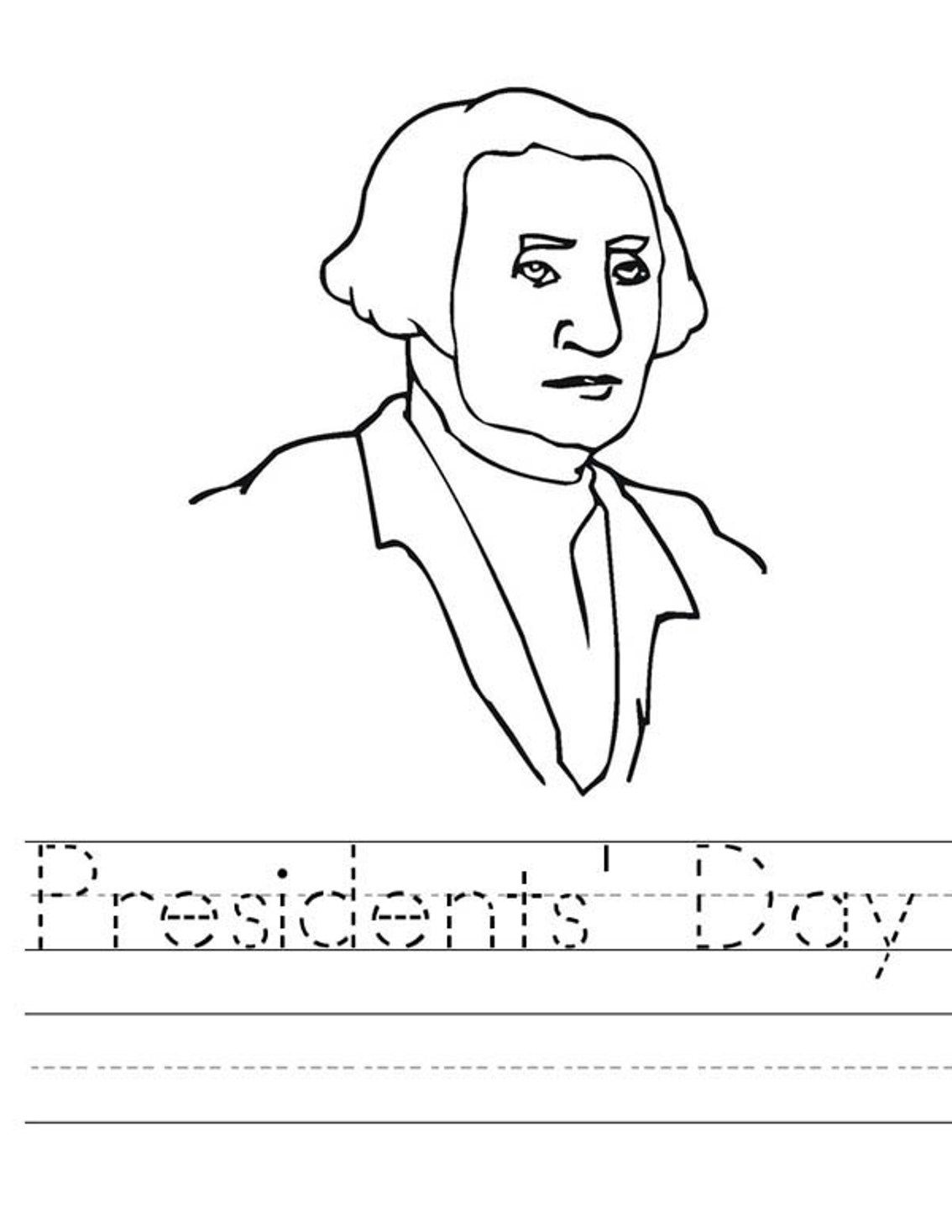 President Day Coloring Pages To Print
