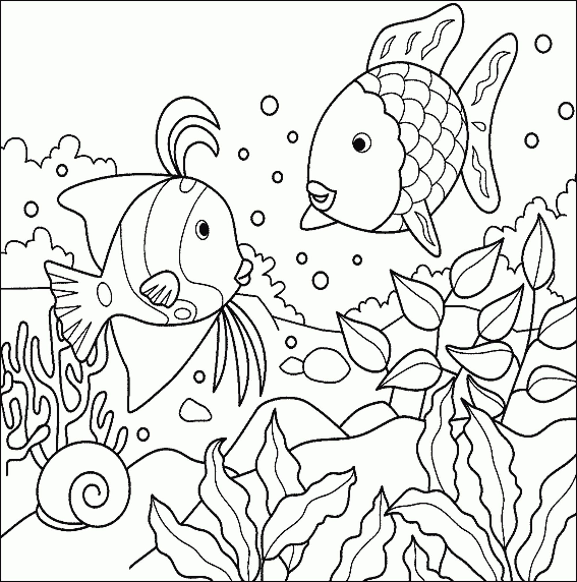 Rainbow coloring pages for adults
