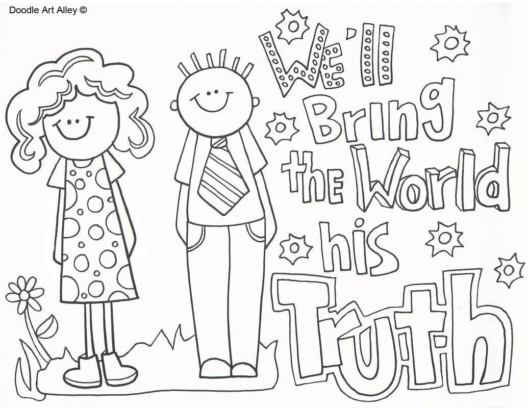 Mission Coloring Pages