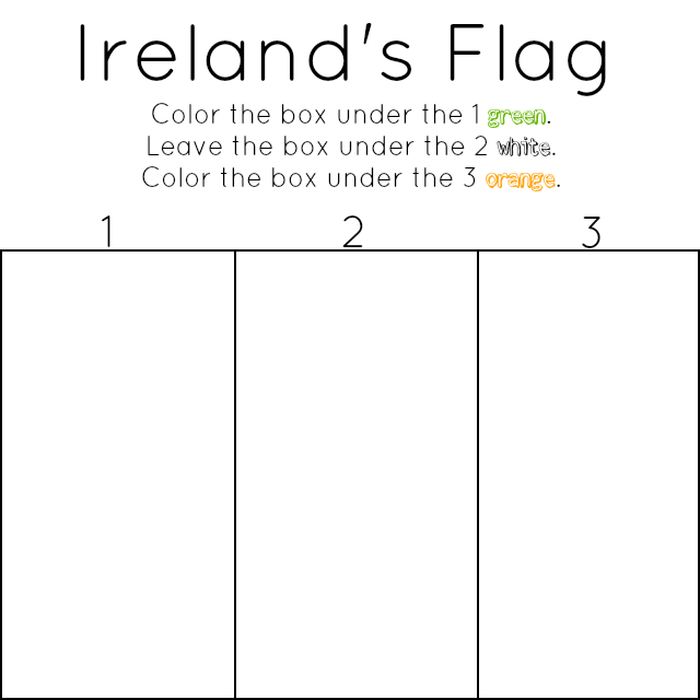 coloring pages ireland flag cooloring com