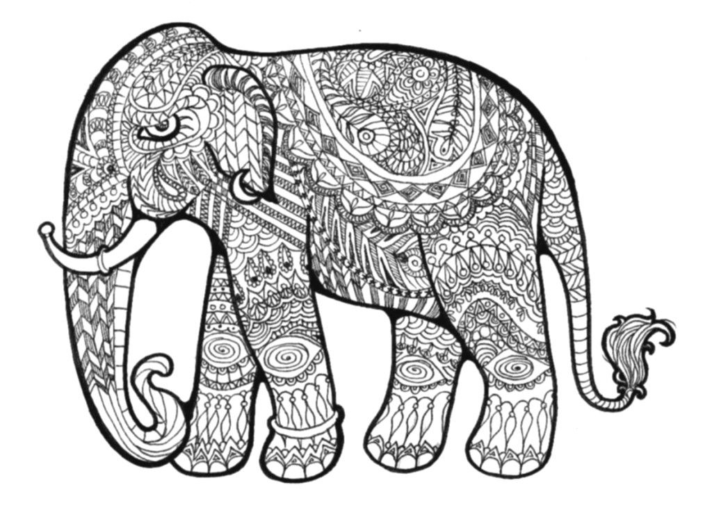 printable hard coloring page animal az coloring pages