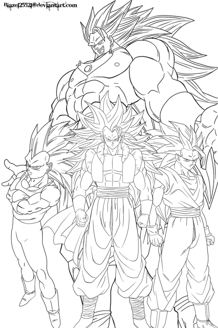 goku ssj3 coloring pages coloring pages now