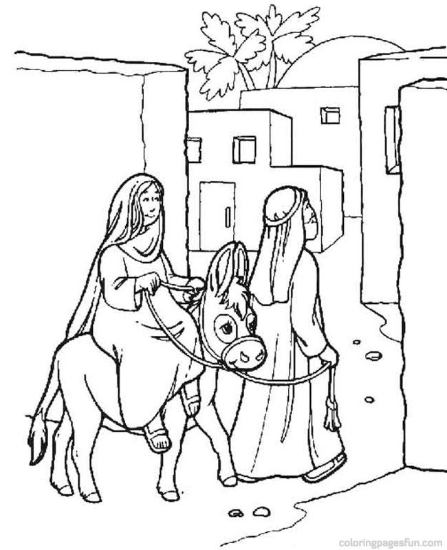 Search Results For Christmas Nativity Coloring Pages