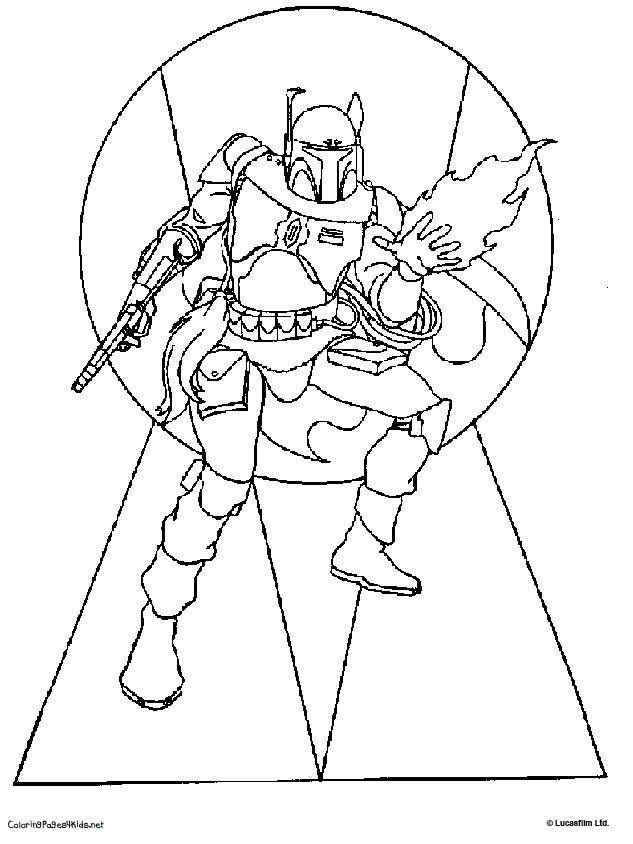 boba fett coloring pages for free star wars boba fett coloring pages