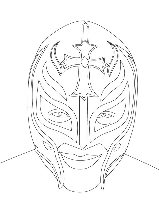 wwe coloring in pages wwe coloring
