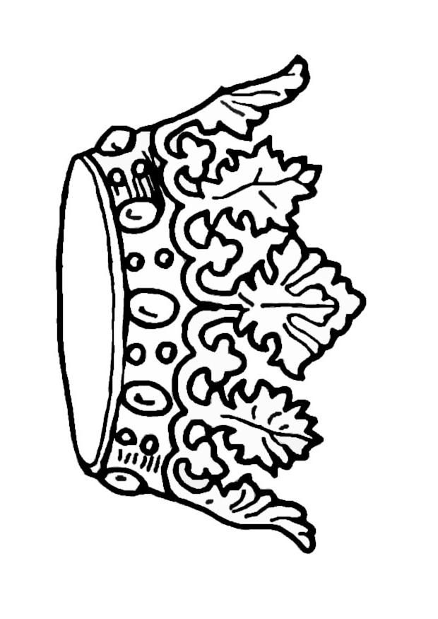crown coloring pages az coloring pages