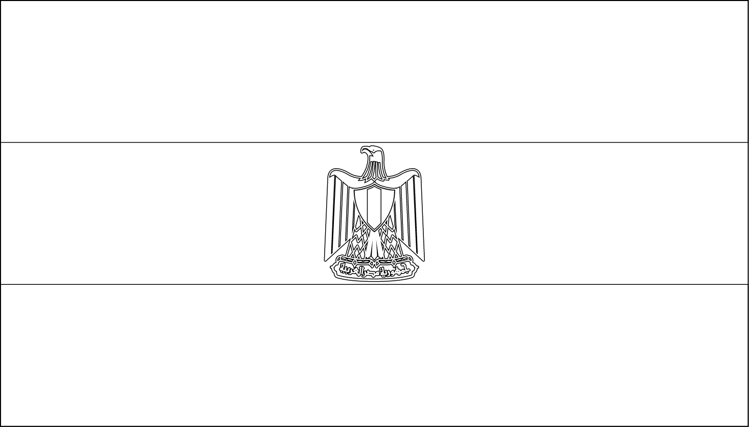 egypt flag coloring page az coloring pages
