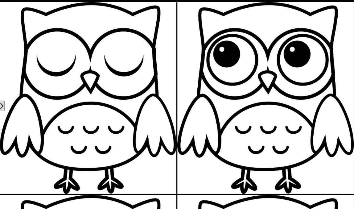 cute baby owl coloring pages az coloring pages