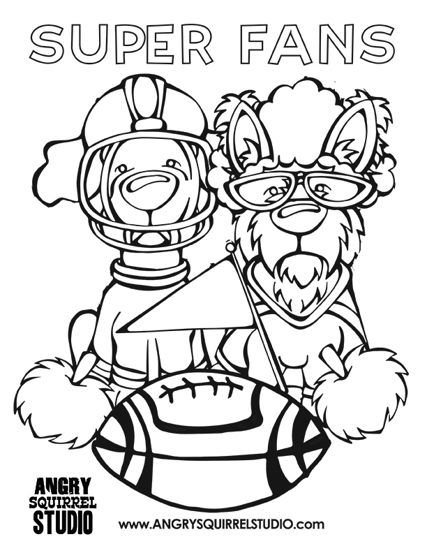 super bowl 2016 coloring pages free coloring pages now