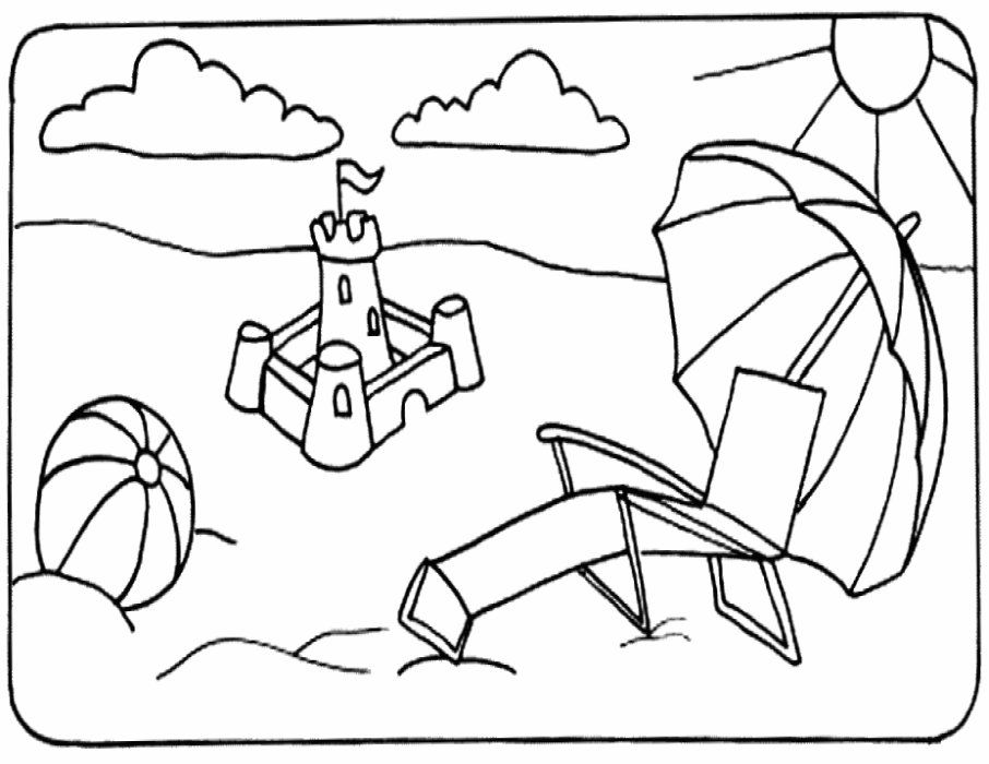 beach ball coloring pages az coloring pages