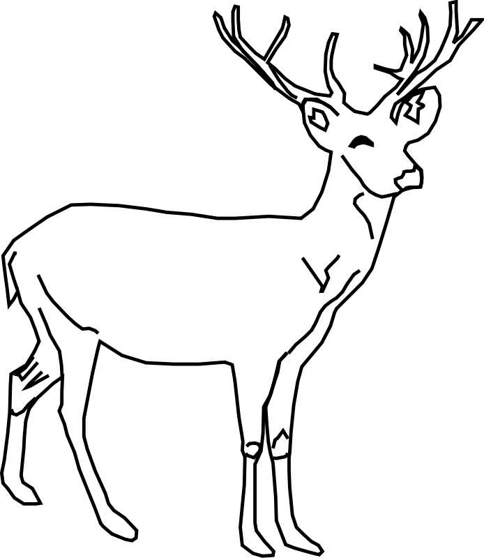 printable deer coloring pages az coloring pages