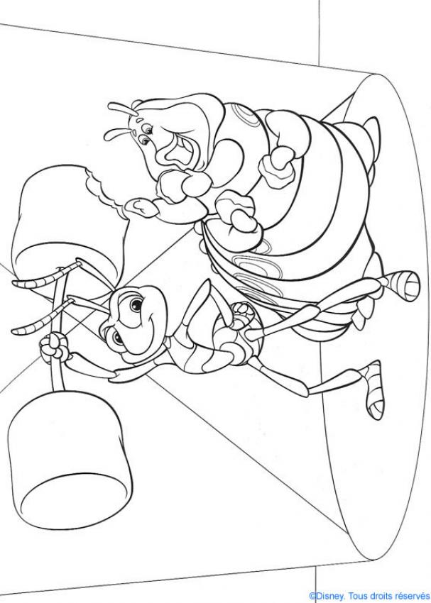 bugs life coloring pages az coloring pages