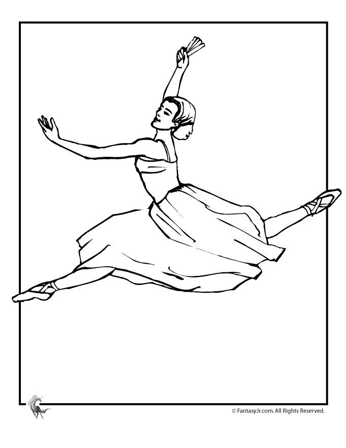 and print these ballerina coloring pages for free ballerina coloring