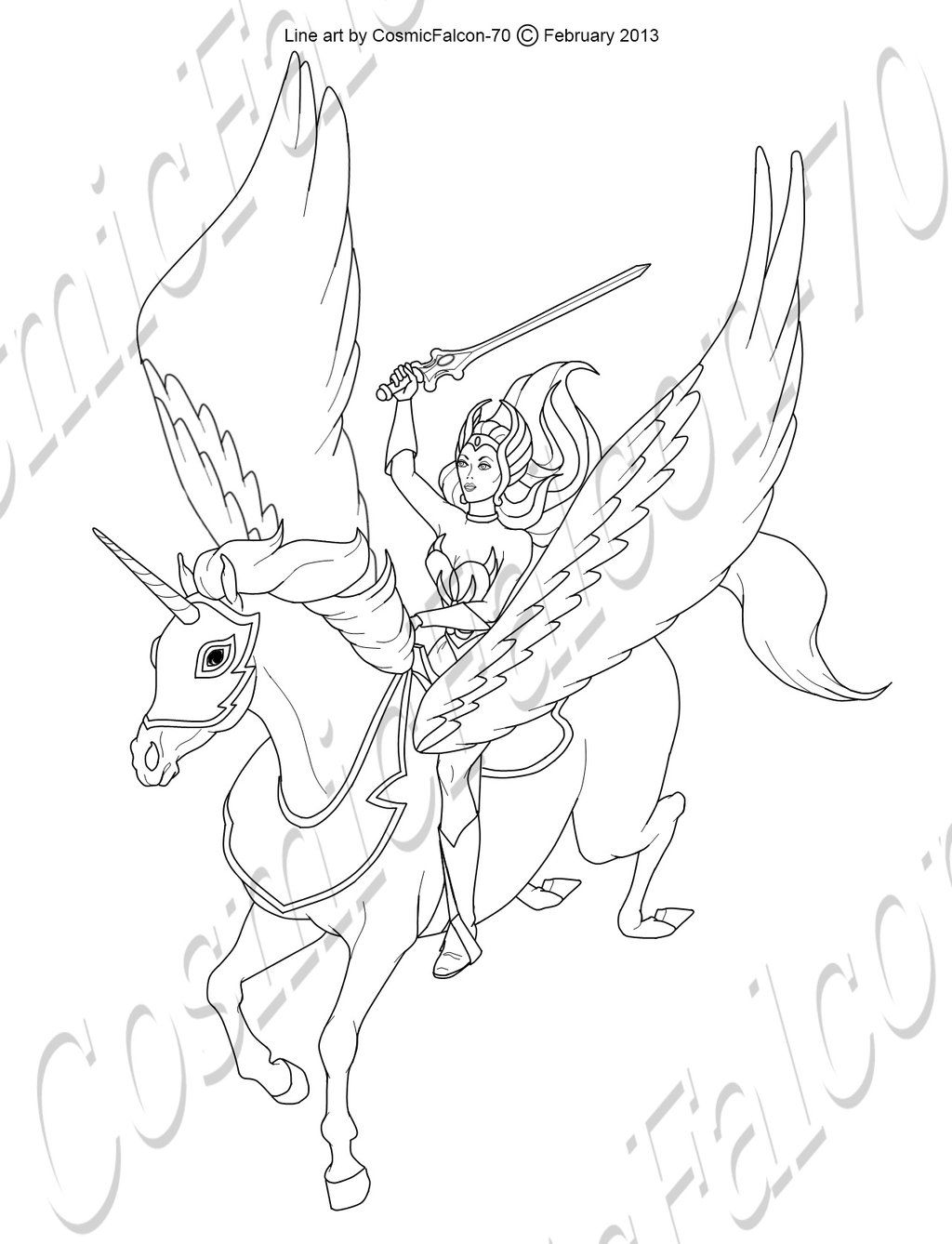 Shera Coloring Pages