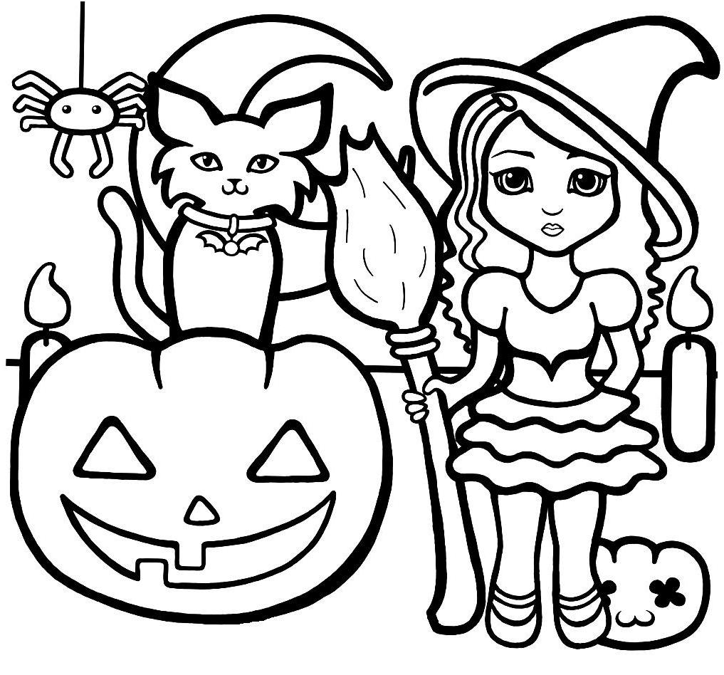halloween coloring pages online print az coloring pages