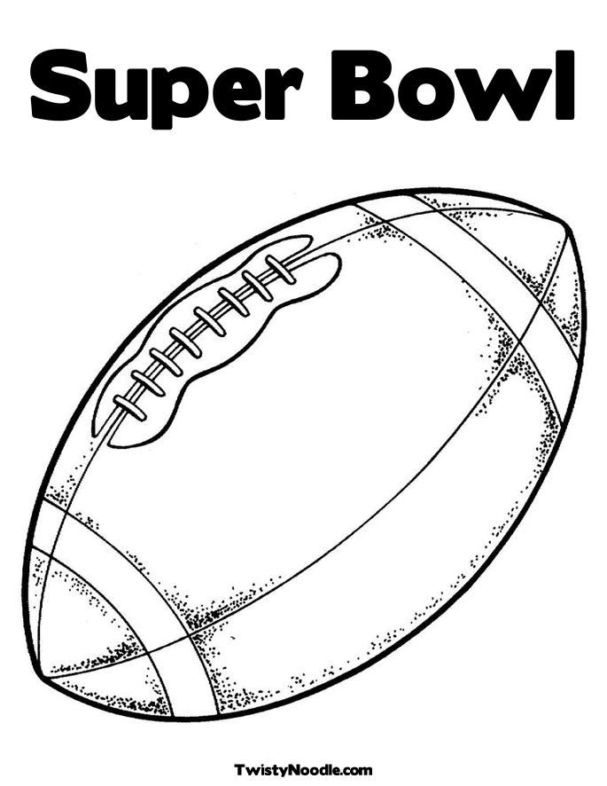 free superbowl coloring pages az coloring pages