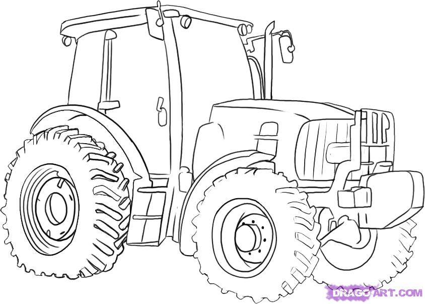 John Deere Printable Coloring Pages Coloring Home