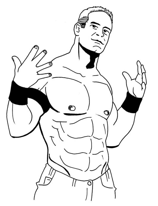 john cena coloring pages to print az coloring pages