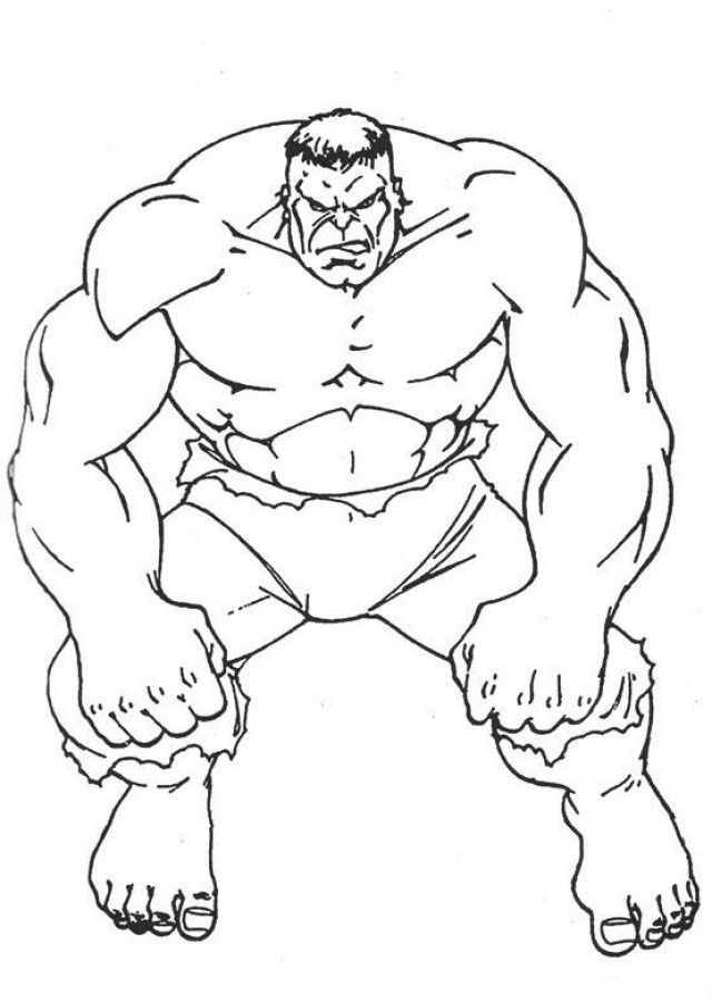 incredible hulk coloring pages az coloring pages