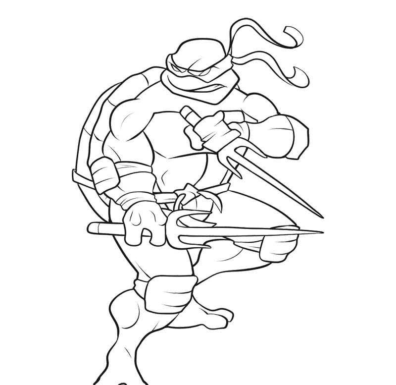 ninja turtle coloring pages for free ninja turtle coloring pages