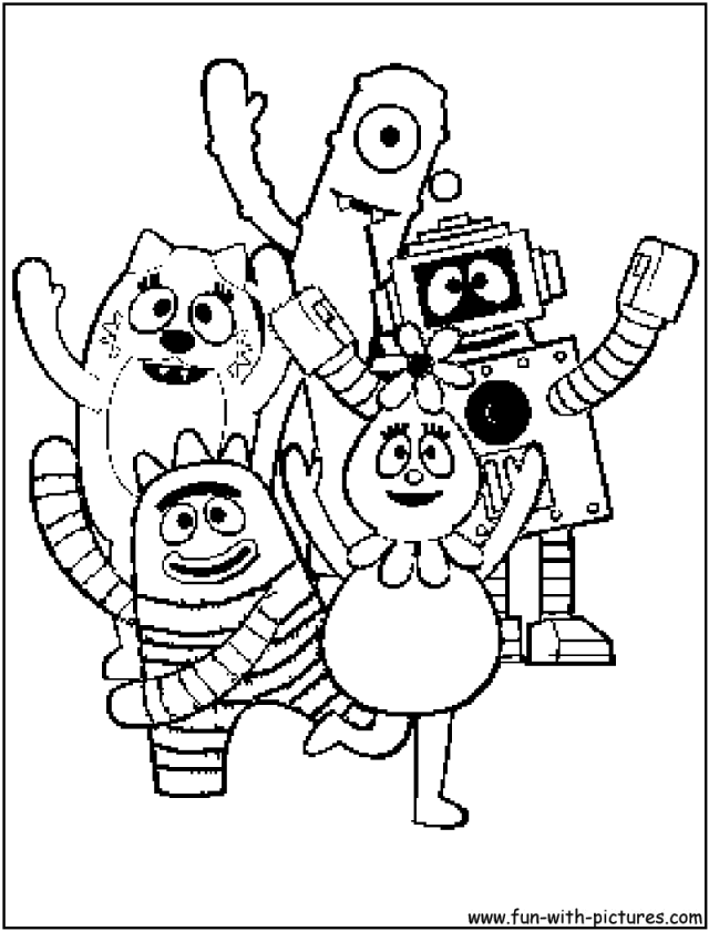 Spongebob Characters Coloring Pages Great Good Character Coloring