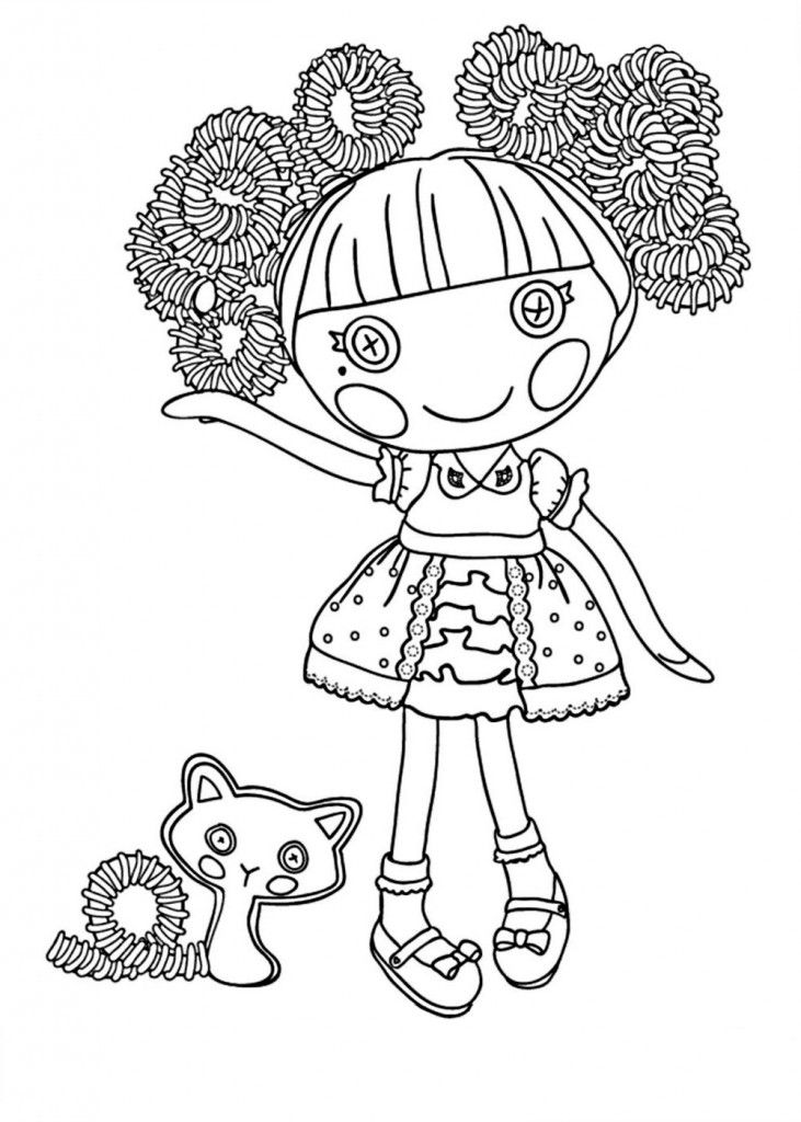 La La Loopsy Coloring Pages Coloring Home
