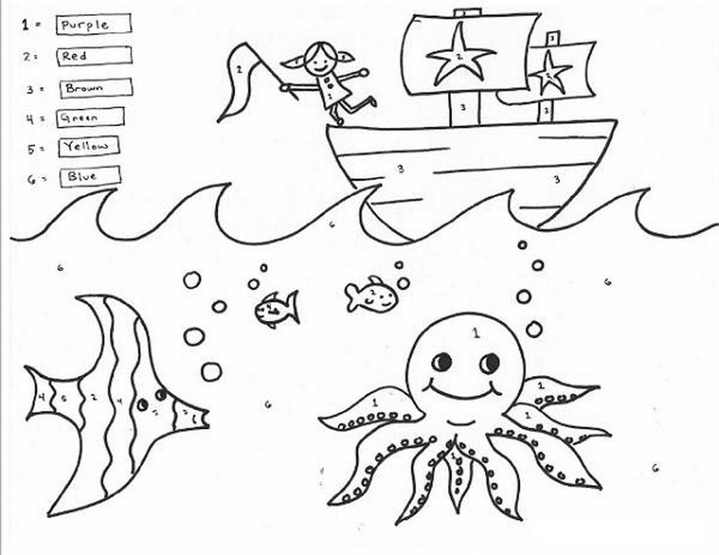 - Christmas Coloring Pages For 1st Graders Math Coloring Sheets