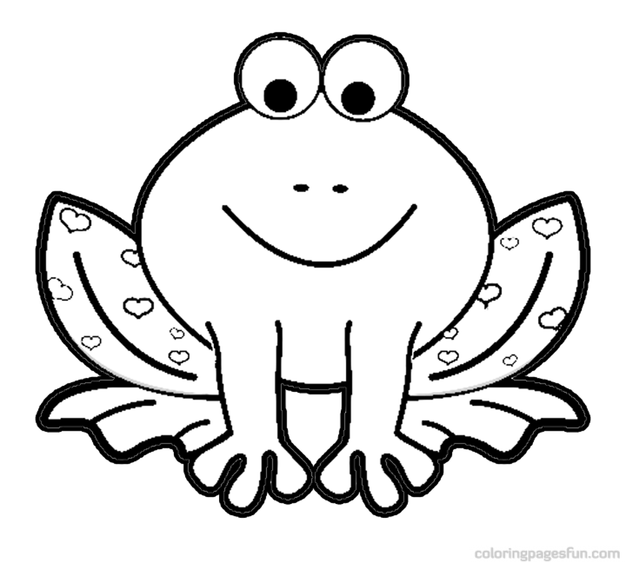 frogs coloring pages az coloring pages