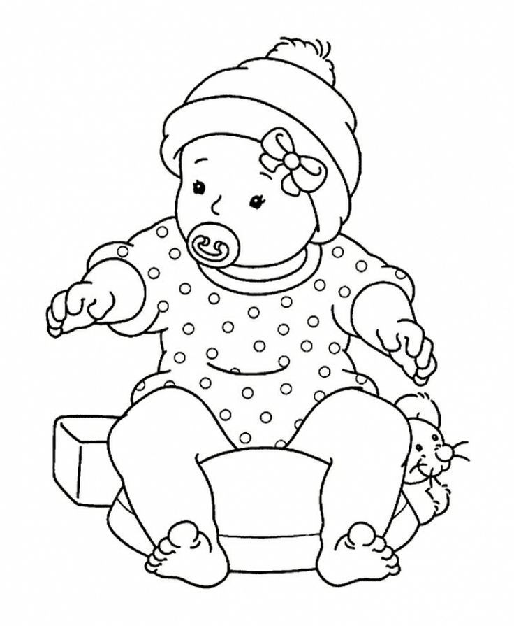 baby doll coloring pages az coloring pages