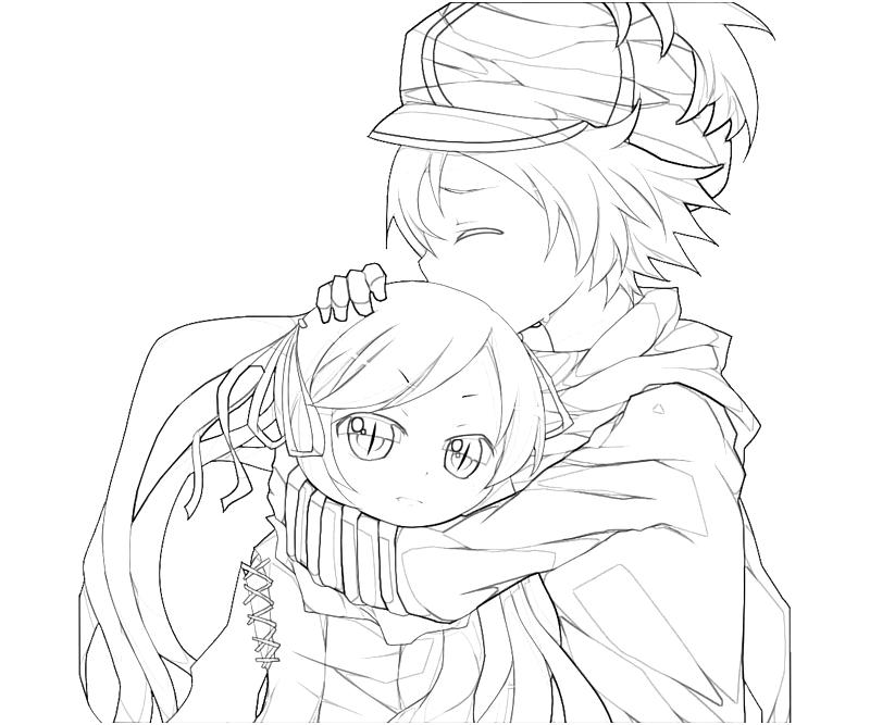 cartoon anime girls coloring pages