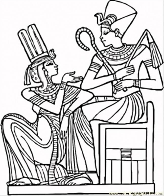 egyptian coloring pages for kids az coloring pages