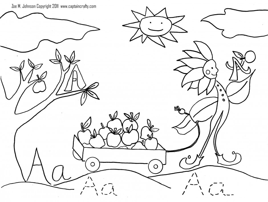 nature beauty coloring page for kids coloring pages 247228 nature