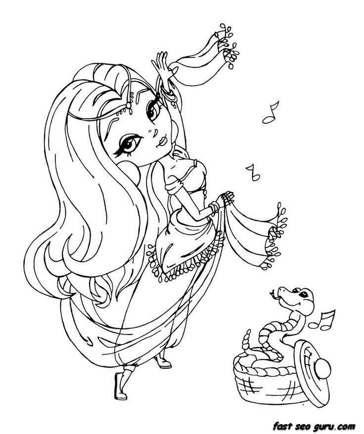 pretty girl coloring page az coloring pages