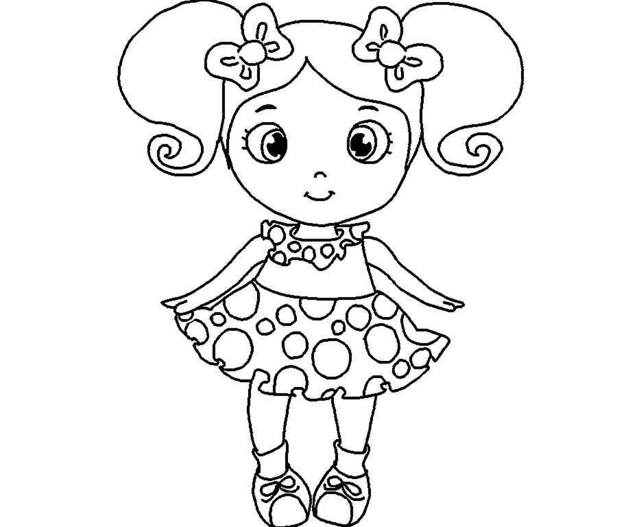 colour drawing free wallpaper doll for kid coloring drawing free