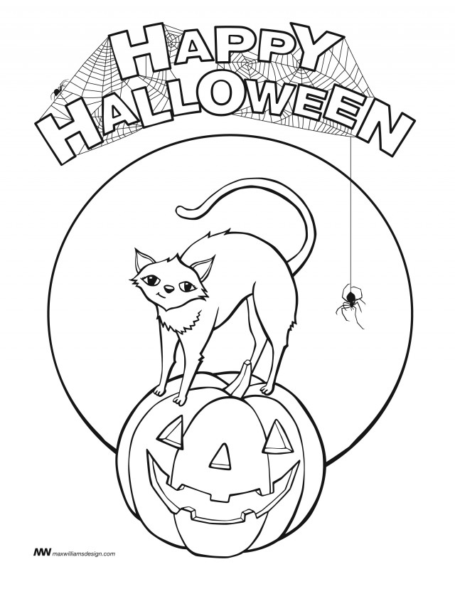 halloween black cat coloring pages halloween cats az coloring pages