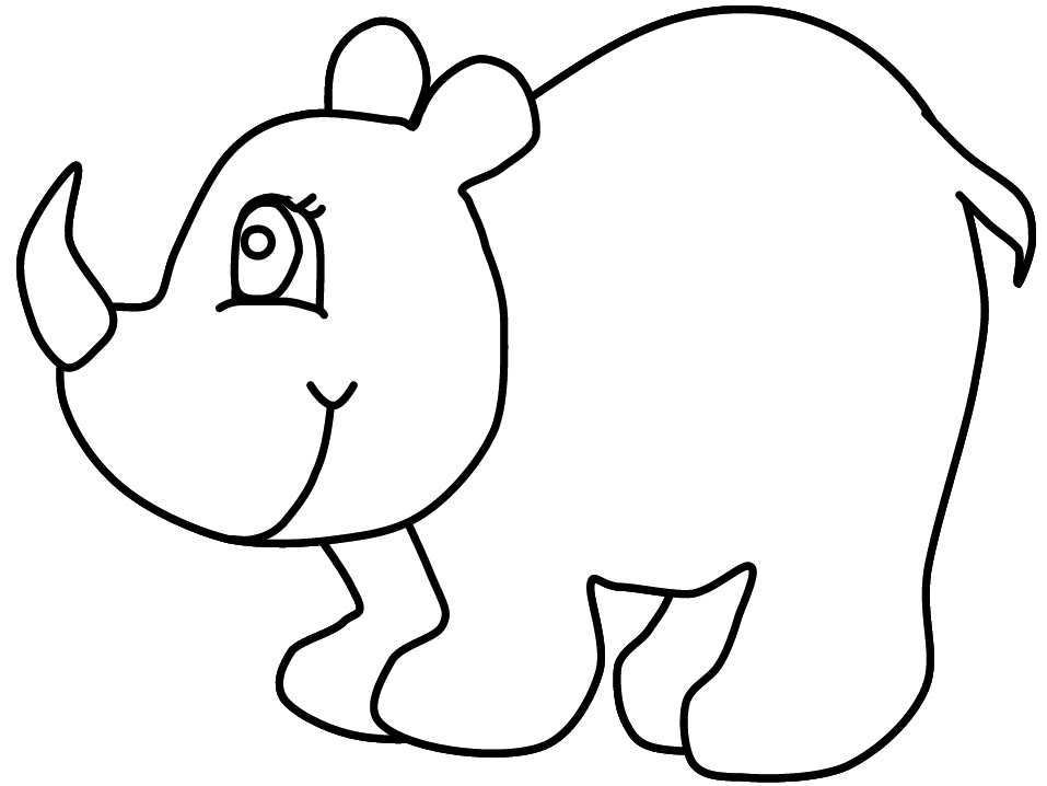 print these rhino coloring pages for free rhino coloring pages